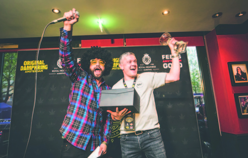 Silver Haze from Coffeeshop Relax wins first prize at Jack Herer Cup